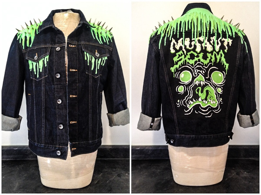 Mutant Scum Silicone Slime Battle Jacket
