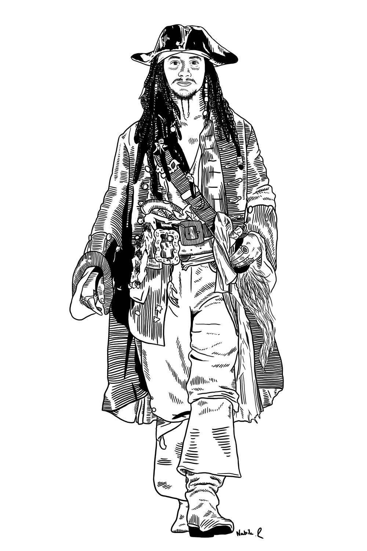 Captain Taffel Sparrow