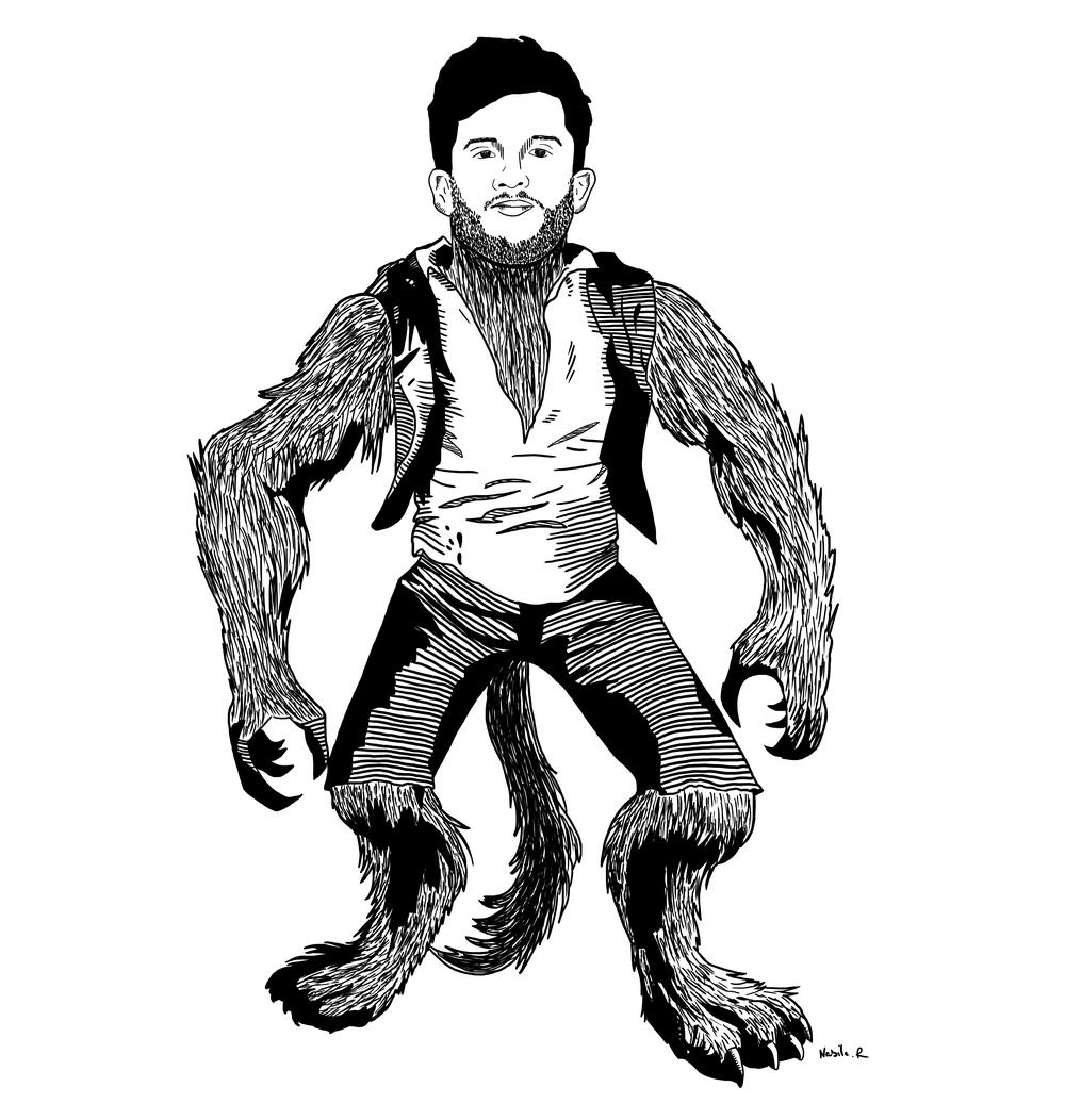 Wolf Man Josh
