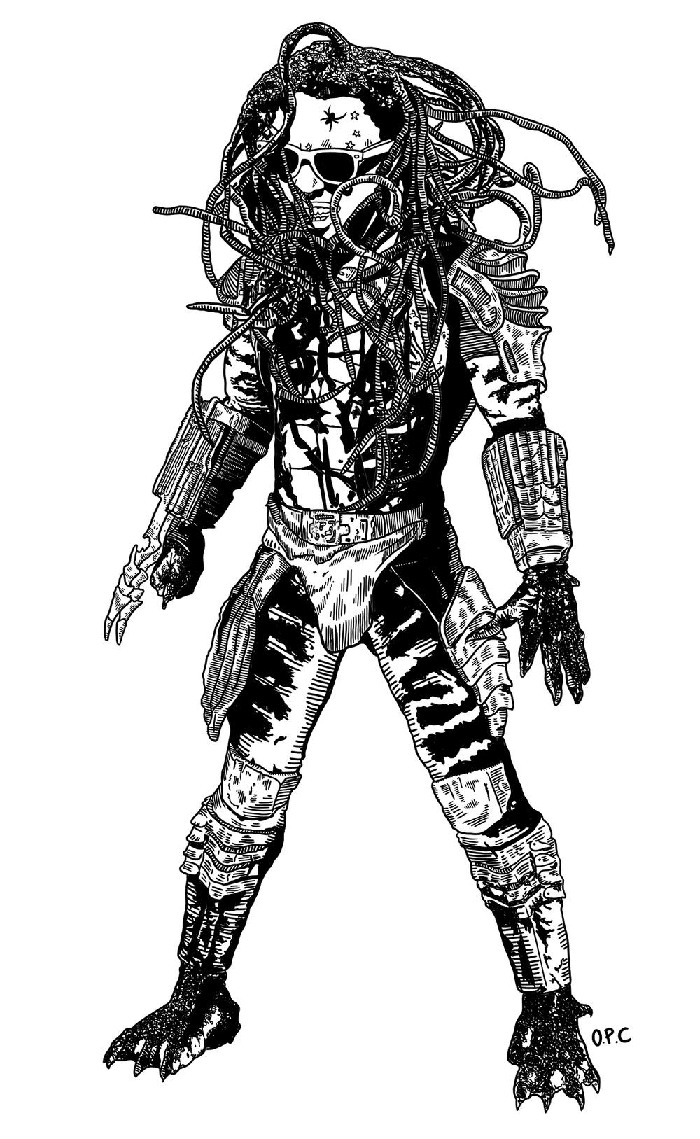 Lil Wayne as Predator