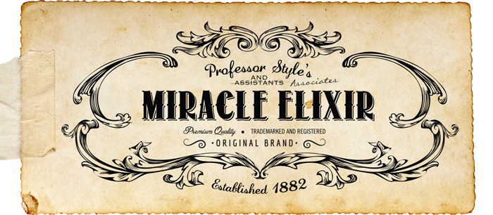 Victorian Miracle Elixir Sideshow
