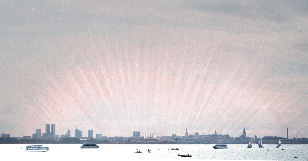 The skyline of Tallinn is one of the main ingredients of the city's identity. Opening the shoreline for public would bring more life to the waterfront and strengthen the city's maritime atmosphere. Illustration: Kaleidoscope