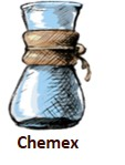 Chemex Kaffee im Schönbergers