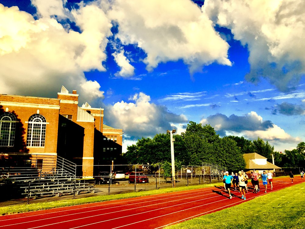 track workouts - so much fun