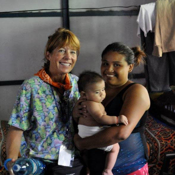 LBC member, Angela Robinson, on a medical mission trip to Nicaragua