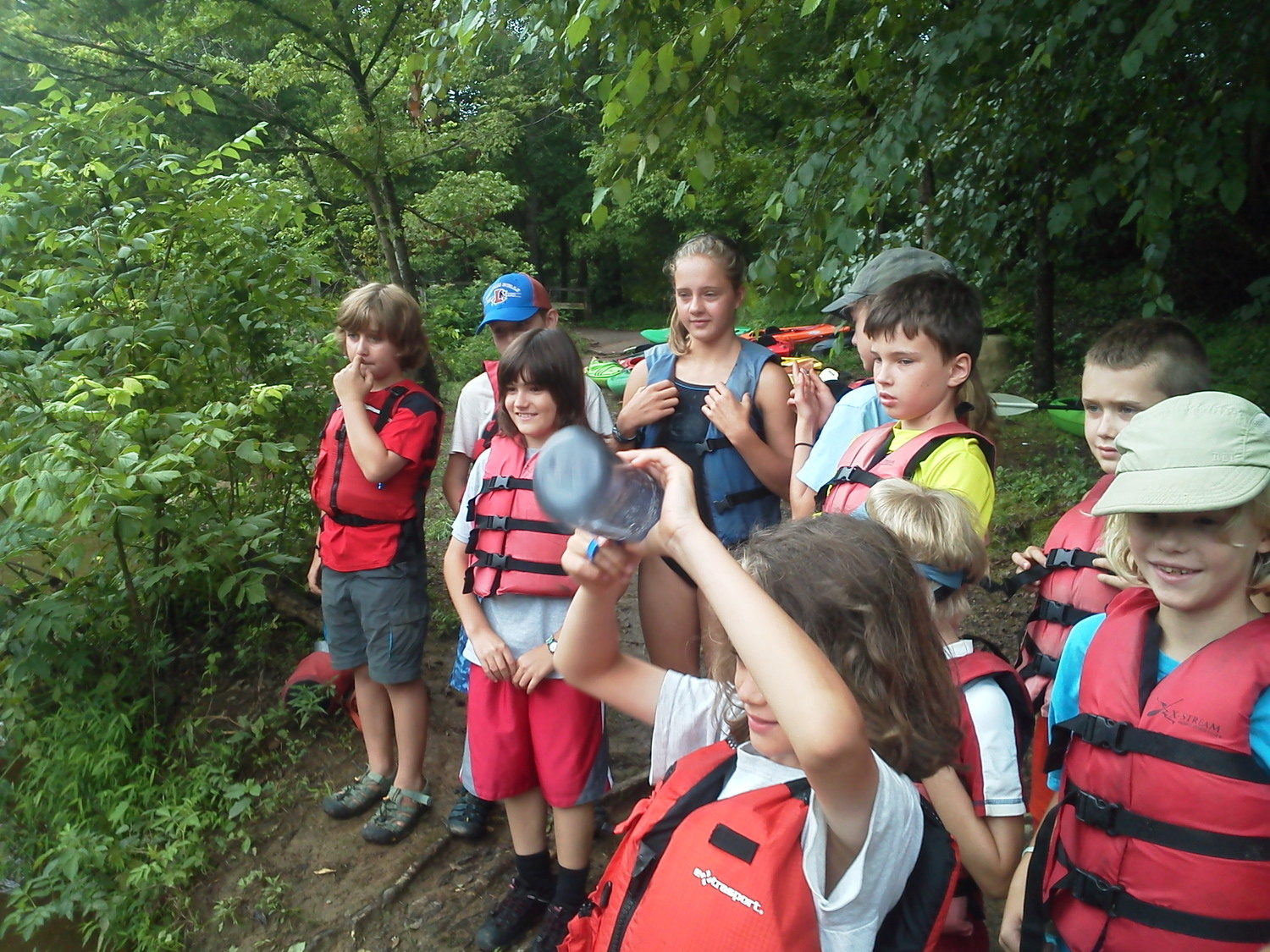 PADDLESPORT ADVENTURE SESSION B -August 5-9, 2019 (8-12 year old) — Frog  Hollow Outdoors