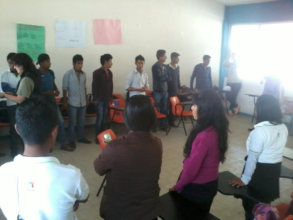Group activities in popular education training