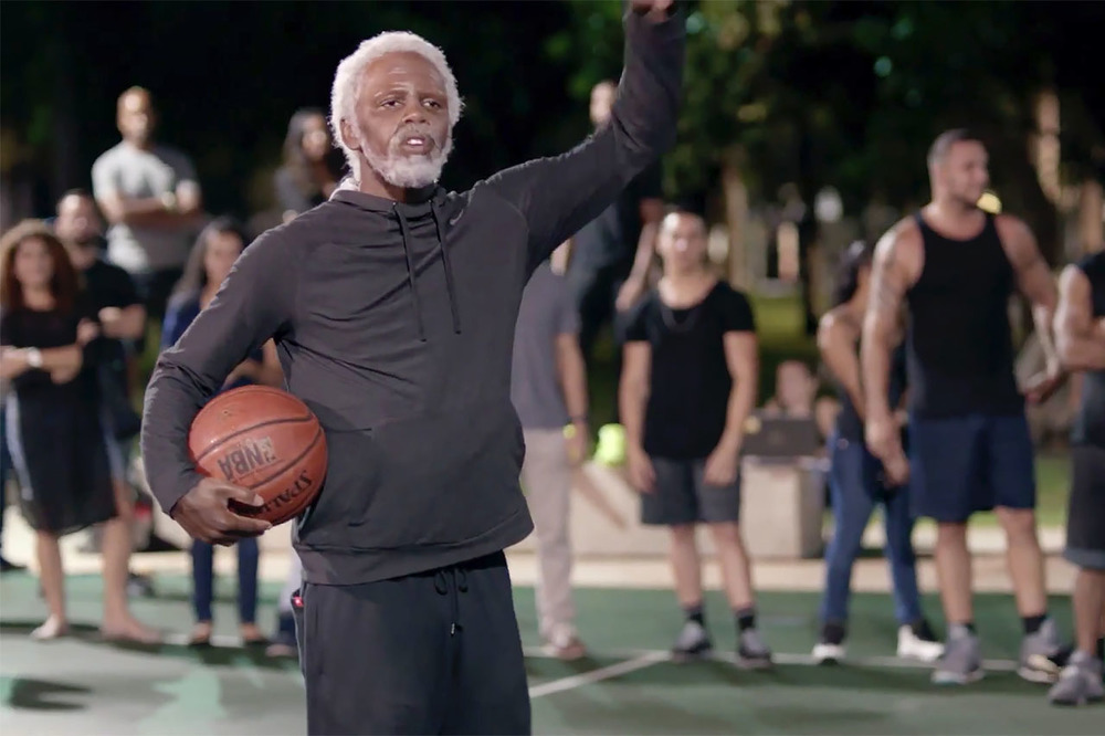 Cavaliers' Kyrie Irving as Pepsi's Uncle Drew