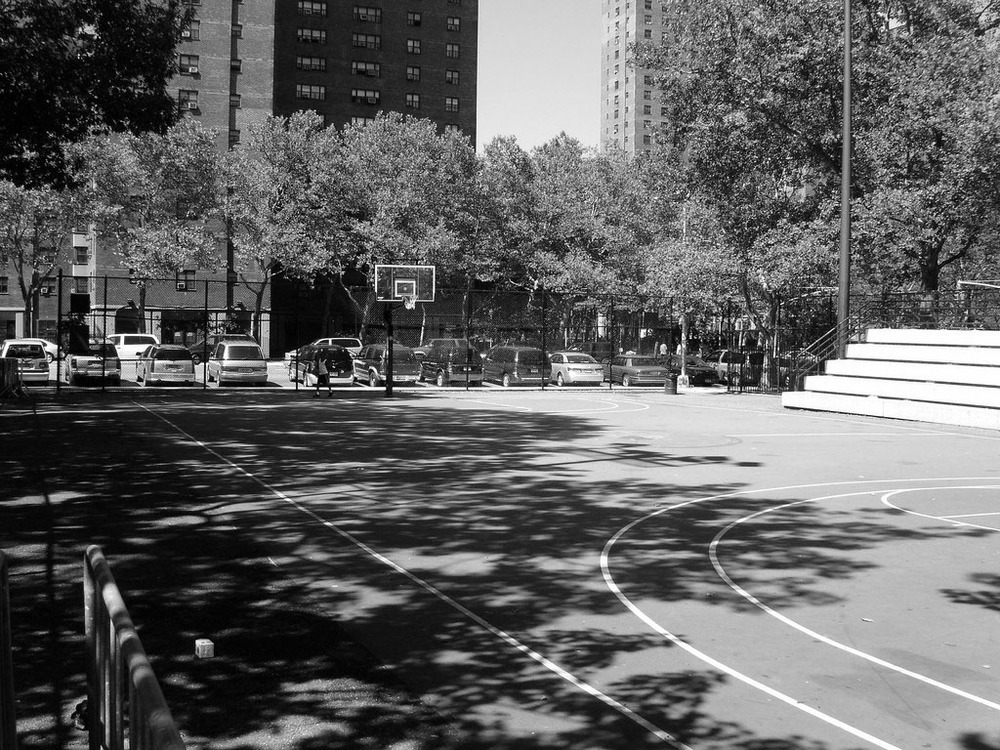New York's legendary Rucker Park, where Kirkaldy honed his skills