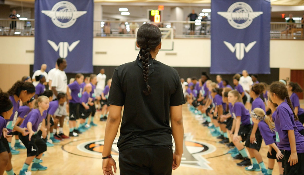 Moore welcoming 100 campers to her annual academy in Minneapolis on Sunday
