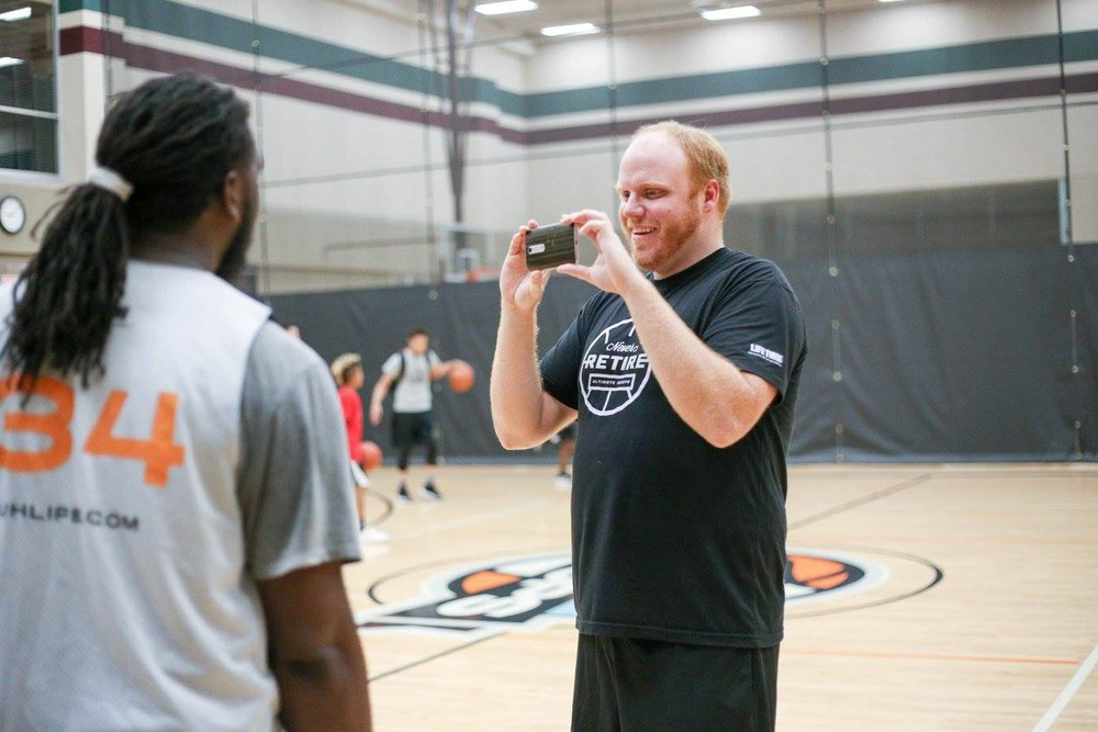 Walker oversees four Ultimate Hoops Leagues in Arizona.