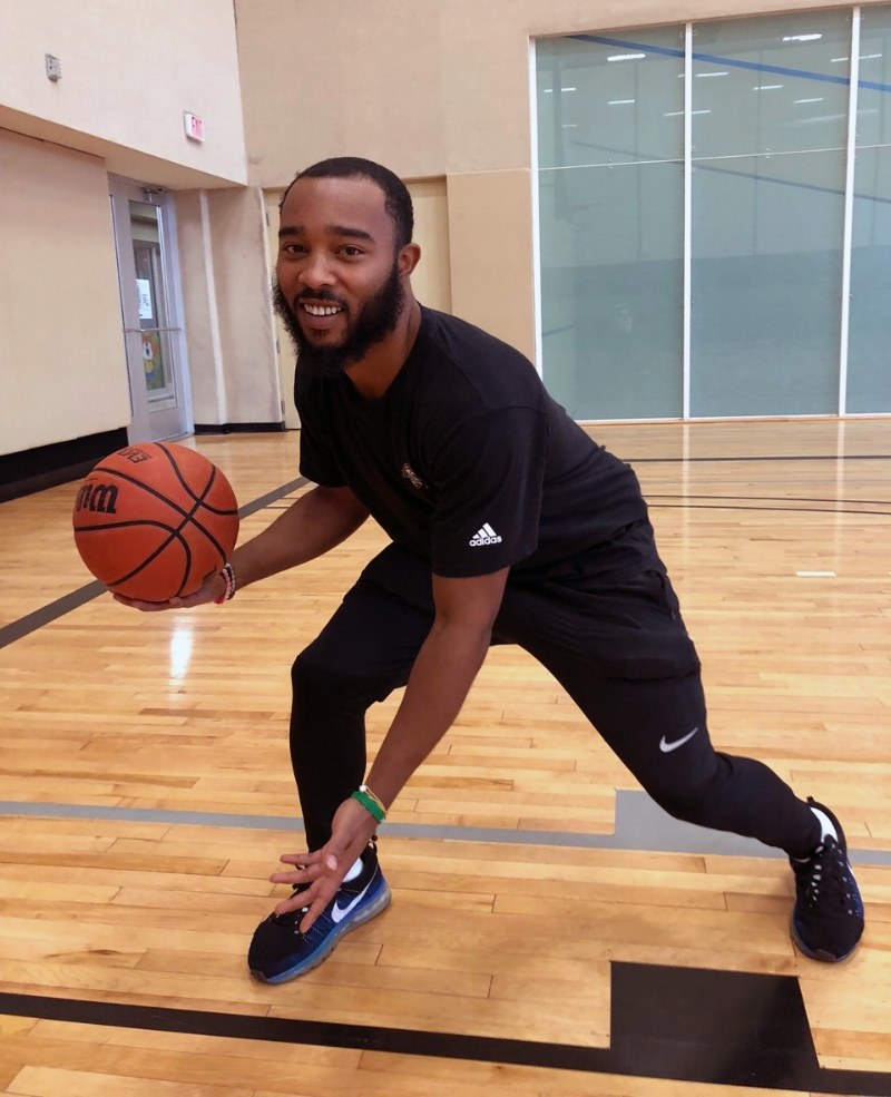 Bryce Lewis  has been an Ultimate Hoops trainer since December 2017. He works hard to keep training sessions fun and engaging for all players.