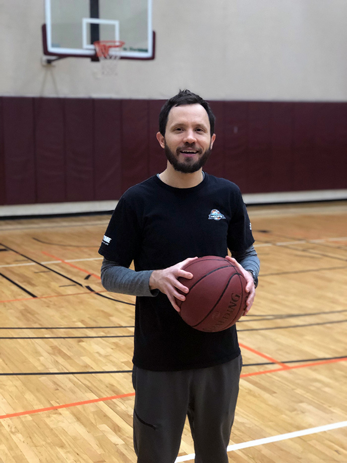 John Christensen  has been an Ultimate Hoops trainer for 5 years! He enjoys seeing hard work pay off for the athletes he trains.