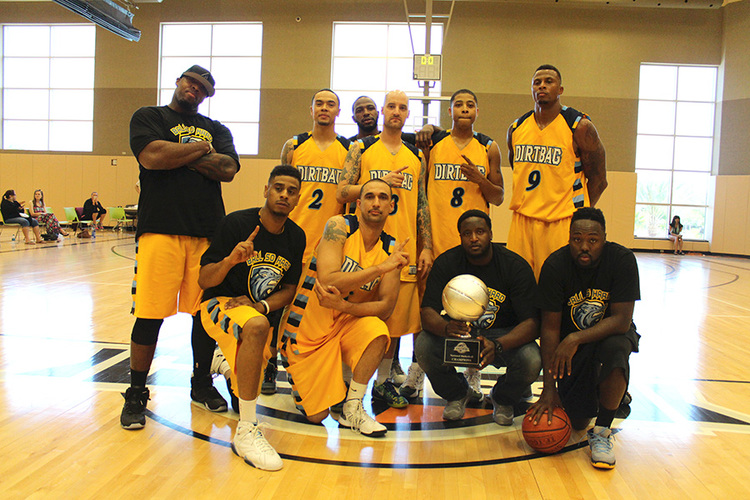 Bickerstaff winning his first national championship with Ball So Hard in 2015