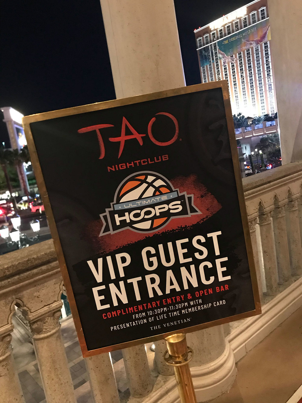 Tao hosted the 2018 National Tourney Saturday night after-party in 2018