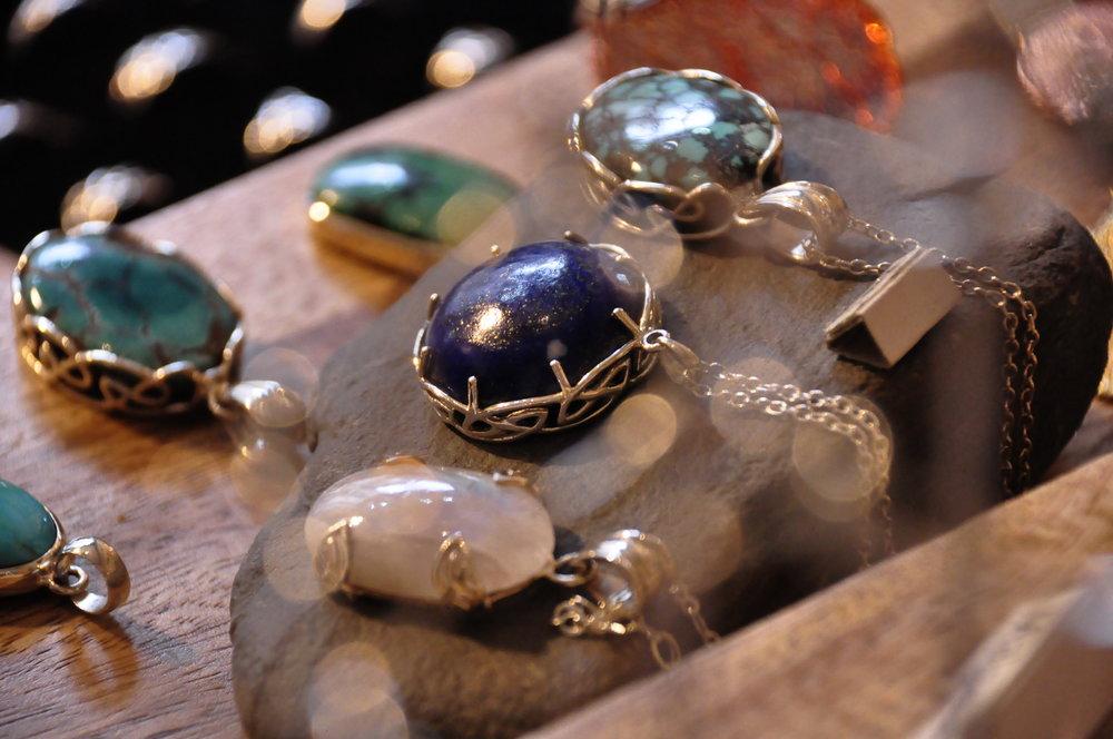 gemstones celtic design scotland