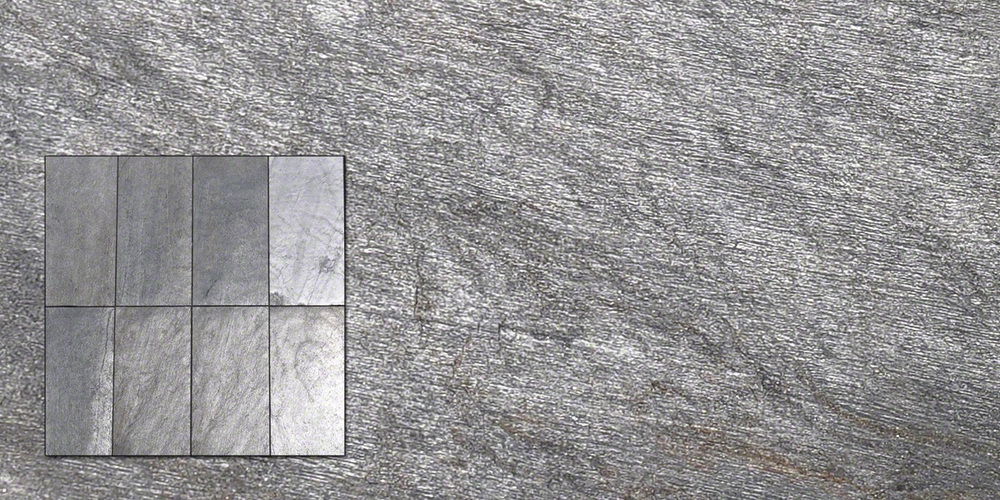 Silver Shine Flexible Stone Veneer