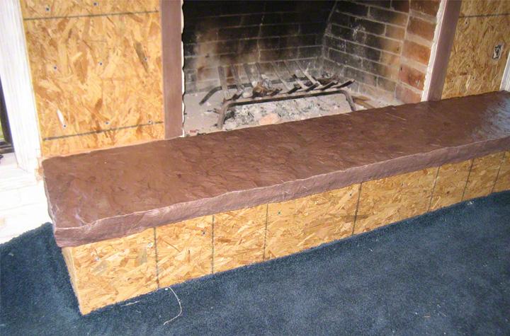 Over slump block txtr lite stone veneer for Slump block construction