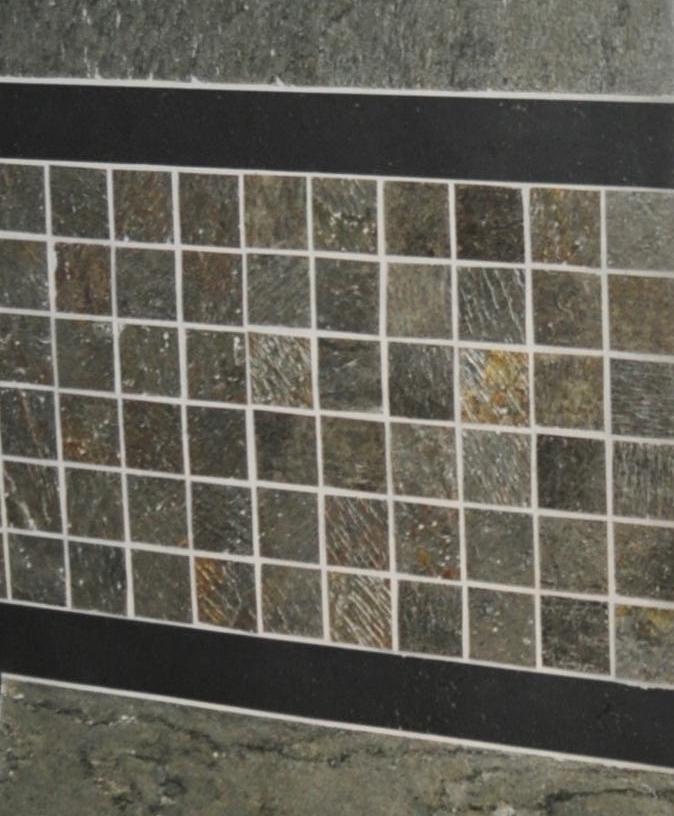 D. Green Mosaic Install