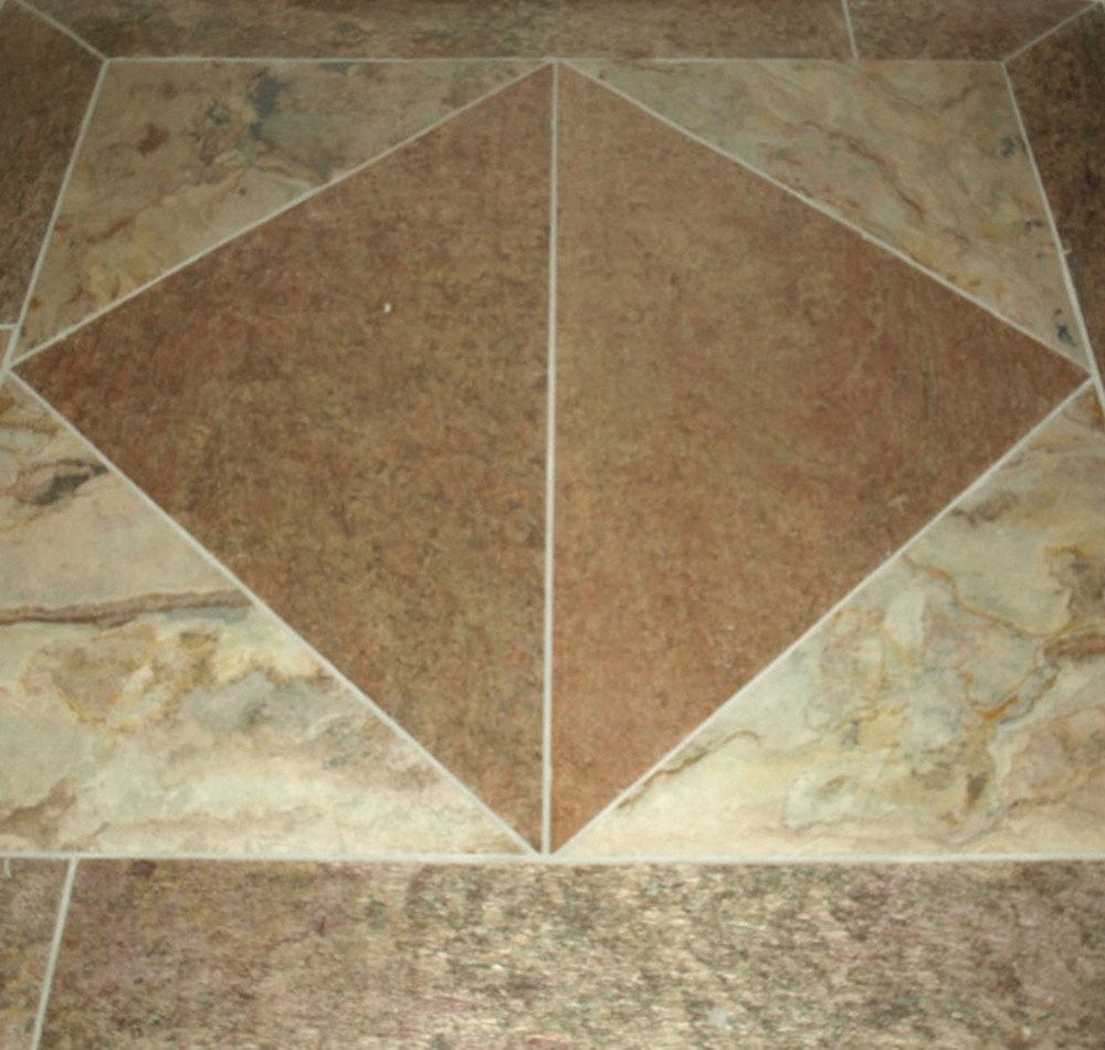 Residential Entryway Floor