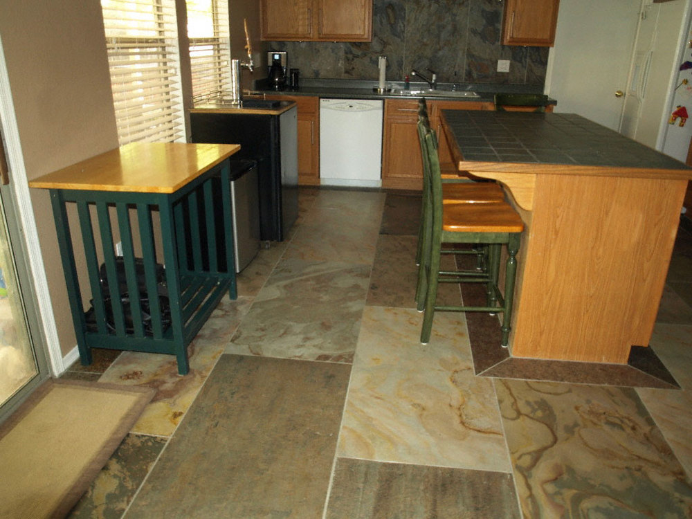 Residential Kitchen Floor