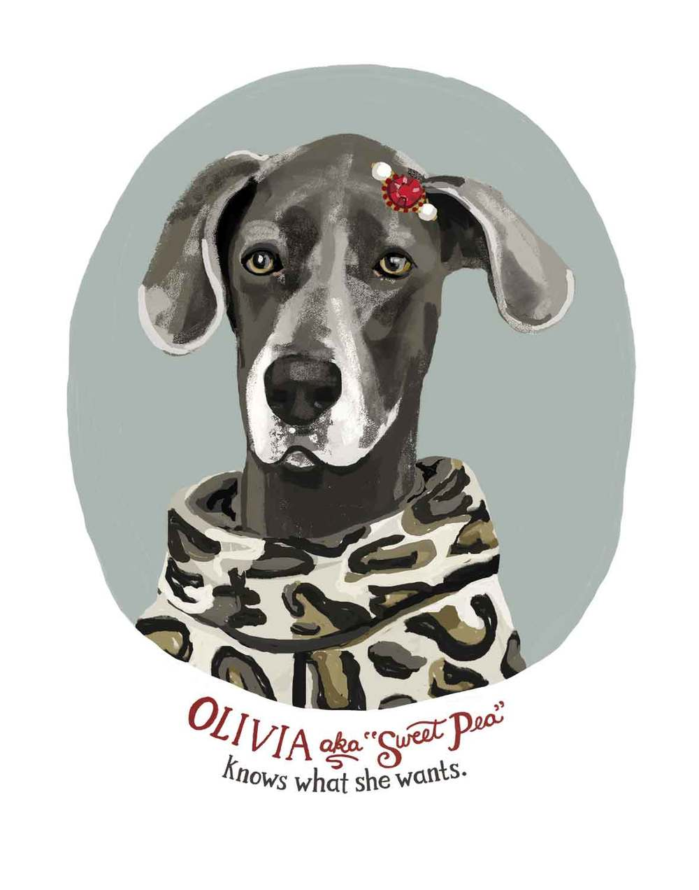 Olivia, the Great Dane