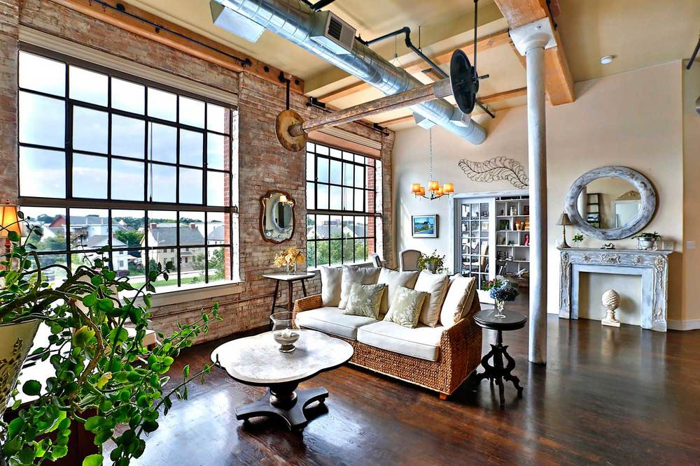 Interior Design Loft New Construction