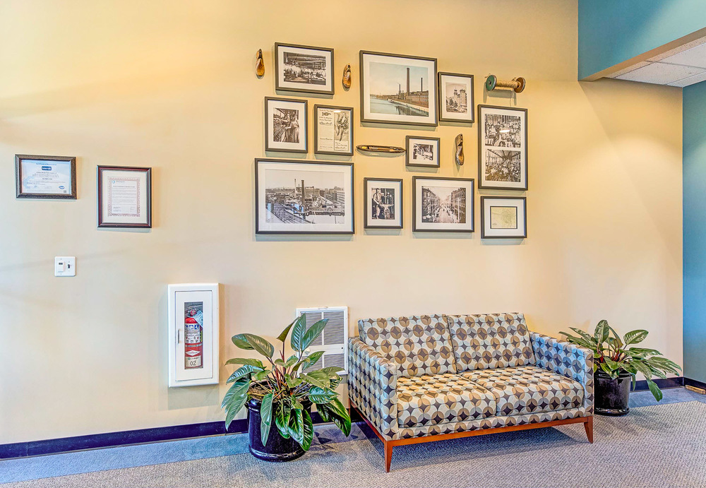 Siemens Corporation Interior Design Lobby
