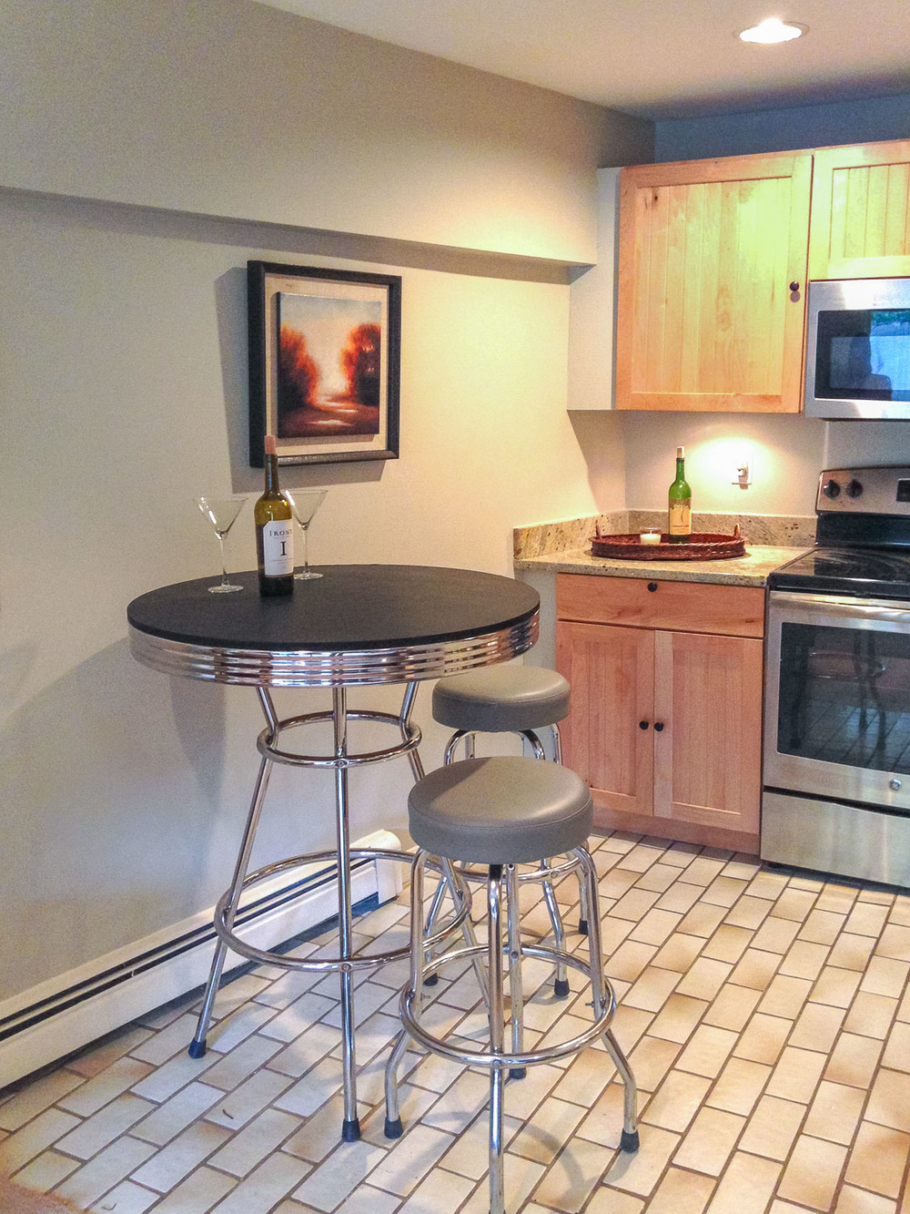 Home Staging Kitchen, Charlestown, MA