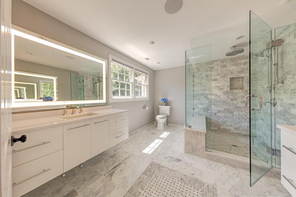 Interior Design Bath Remodel, Andover, MA