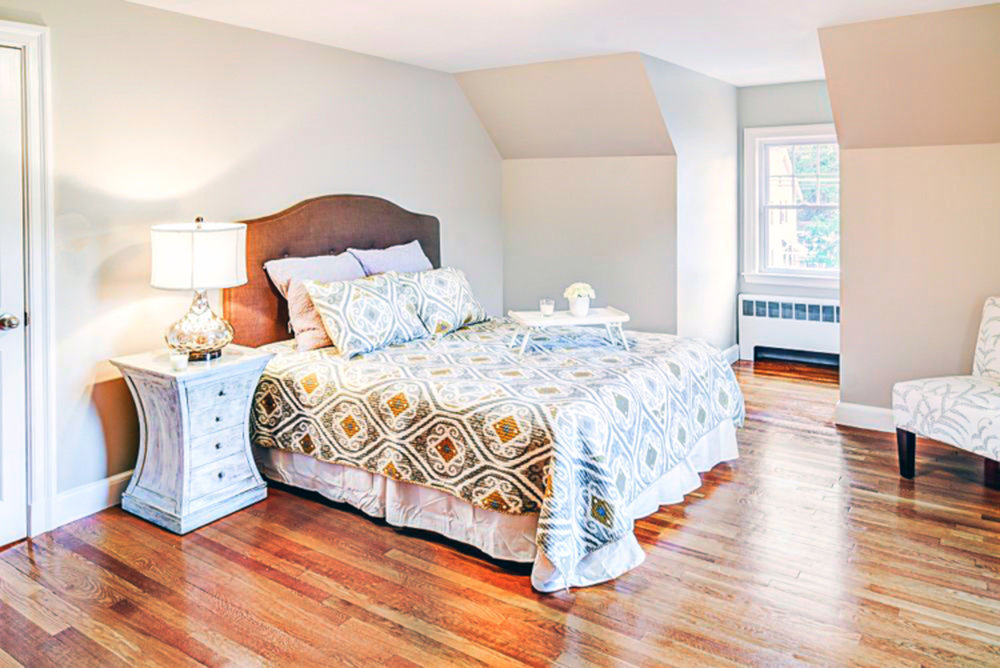 bedroom styling for home sale
