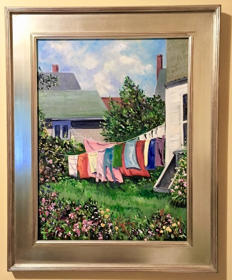 Wash Day by Jean Byrd