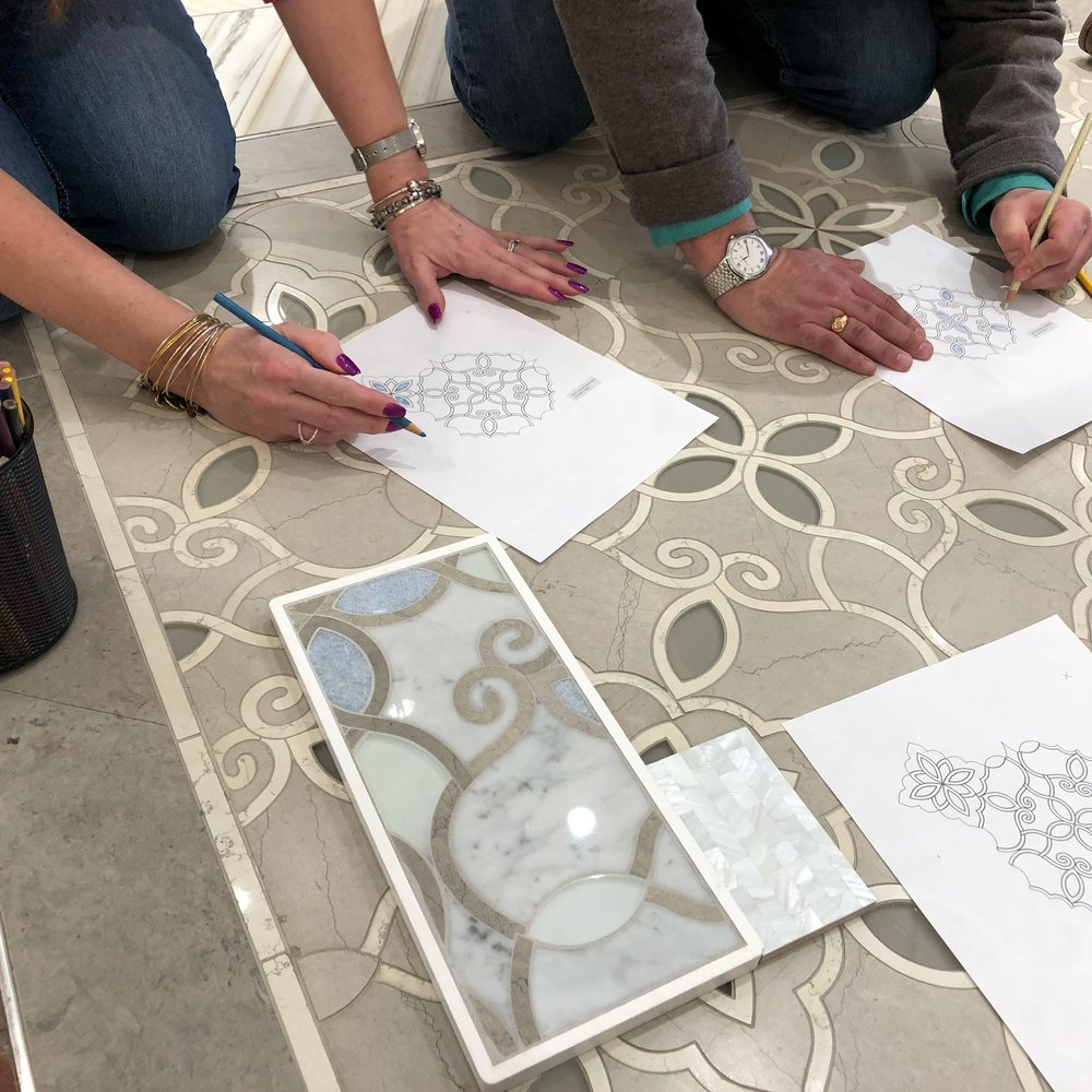 Adult coloring of tile pattern.jpg