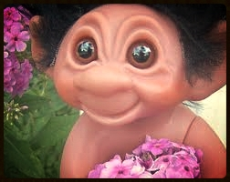 The only trolls I like are the ones that carry flowers.