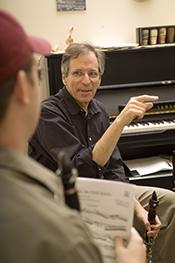 Teaching in Dr. Bish's studio at Florida State Univeristy