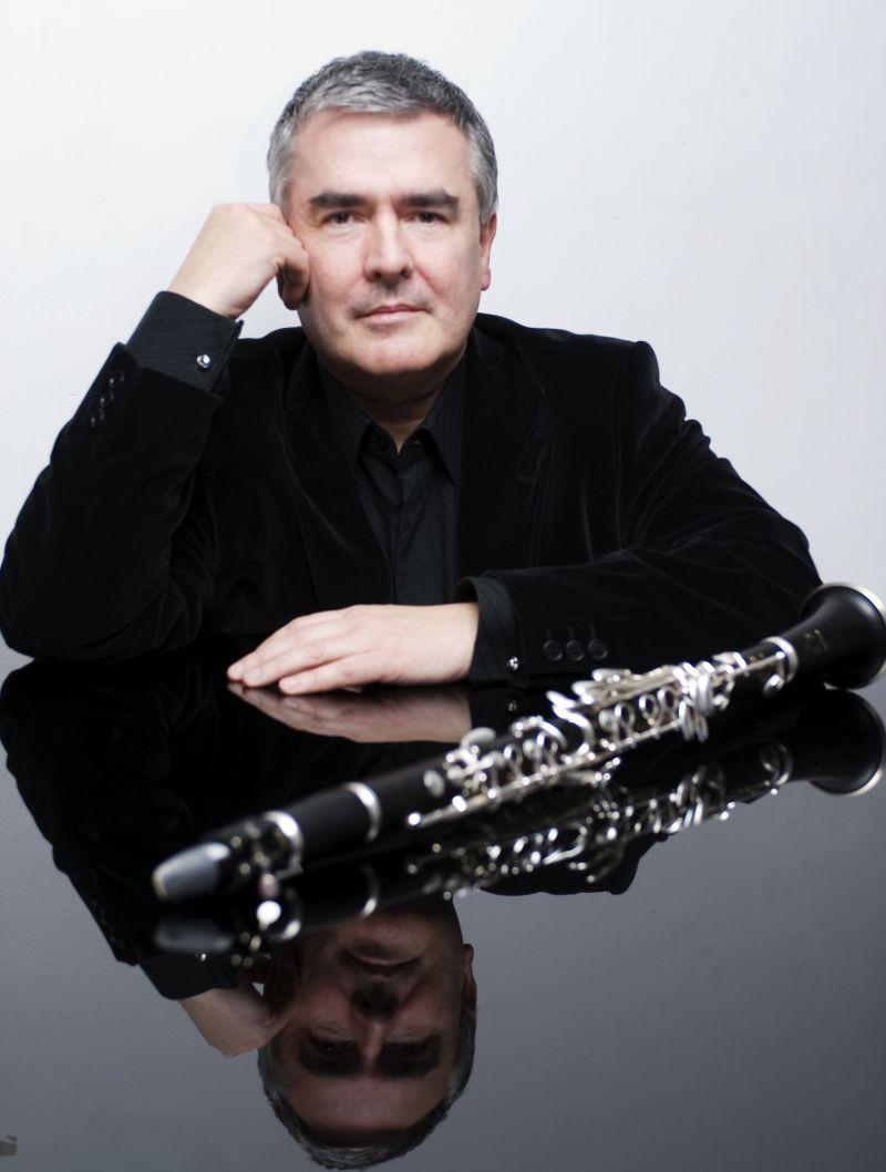 John Finucane, principal clarinet RTE National Symphony Orchestra