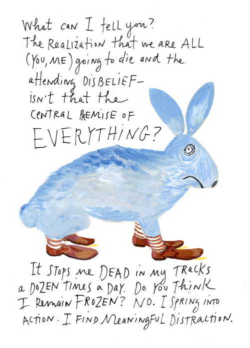 Maira Kalman The Principles of Uncertainty