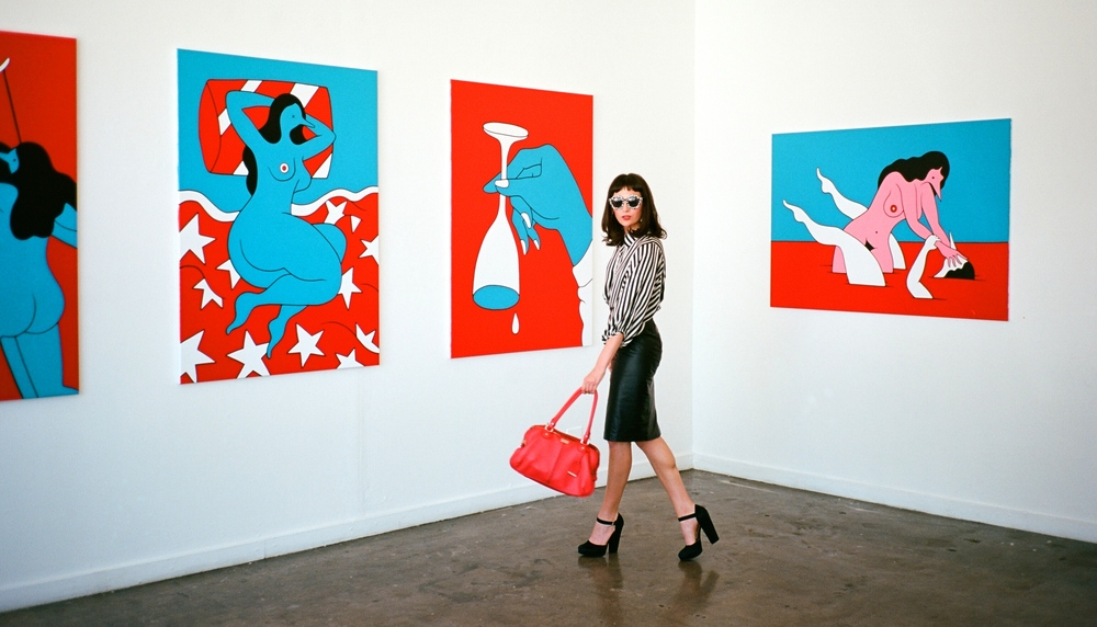 Works by Parra featured at HVW8