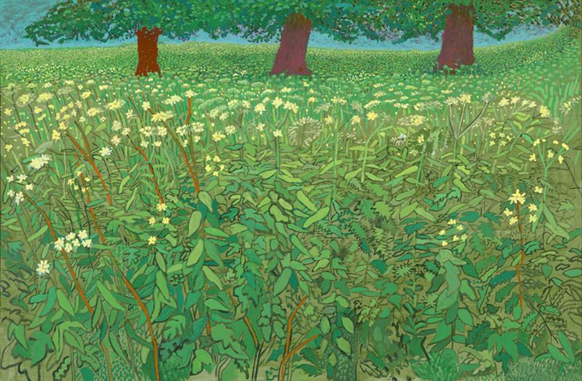 David Hockney , 2010-1011