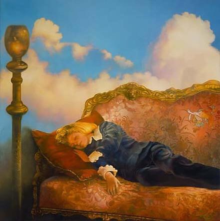 Paul Christiaan Bos  , resinous oils & tempera on canvas