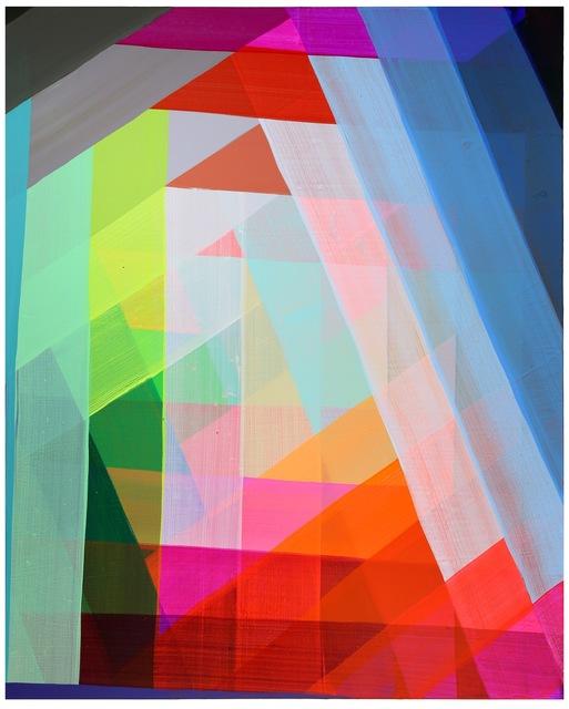Maya Hayuk, 2014, acrylic on canvas