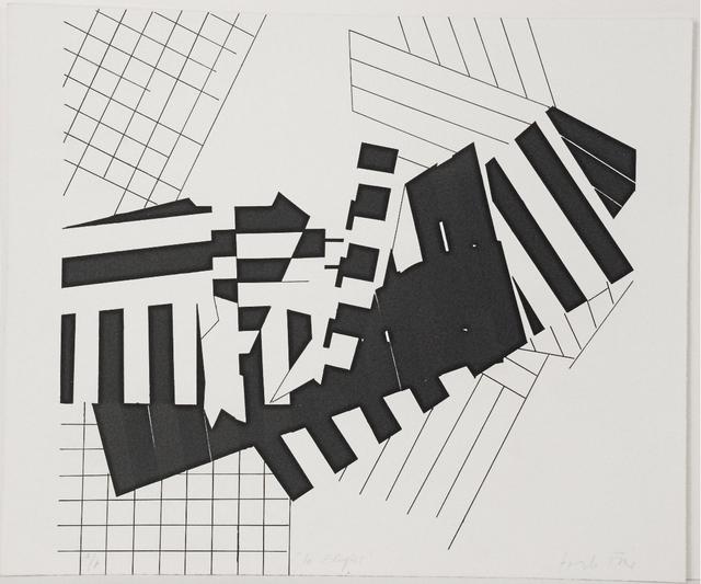 Perle Fine, 1967, lithograph.
