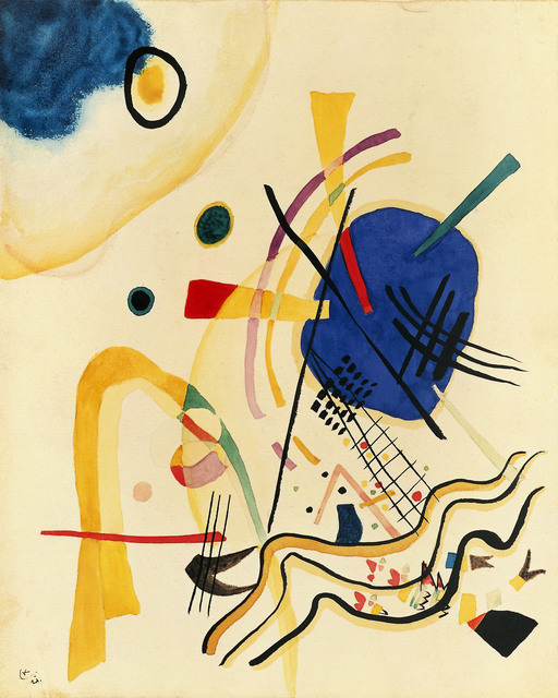Wassily Kandinsky  , 1921, oil on canvas
