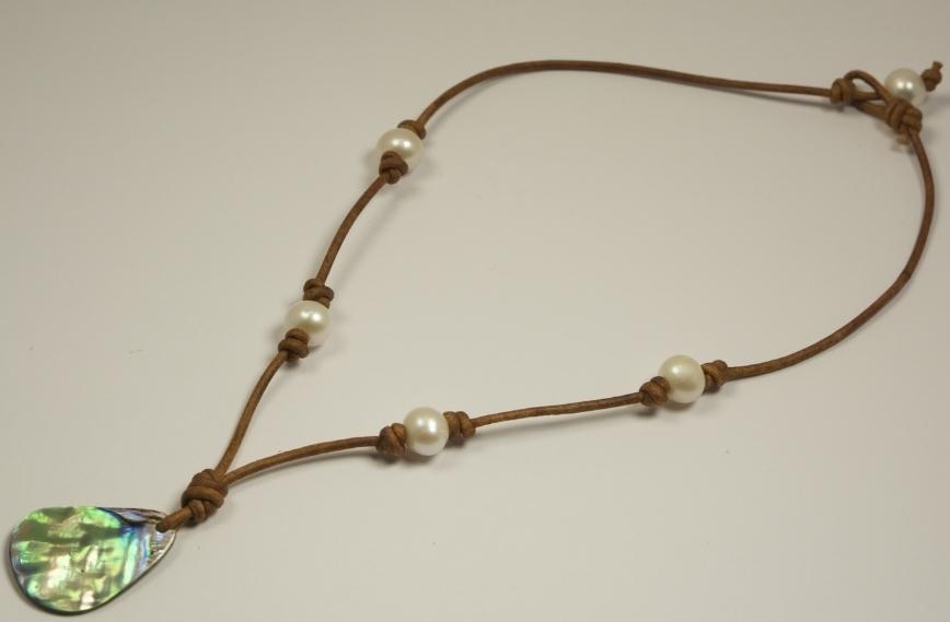 1c1e8baab434 Abalone Necklace — Harbor Pearl