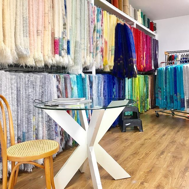 Are you as excited as we are to display our rainbow wall at @ooak_toronto!? 🤩 stop by at booth V4 to get first pick of blankets for the holidays. #treatyourself #holidaygiving #christmasgifts #giftsforhim #giftfordad #madeincanada #mohair #oneofakind #wheweavers #cozy #homedecor #blanket #mohairthrow #madebyhand #weaversofinstagram
