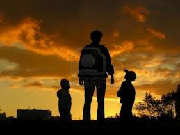 Father and Kids