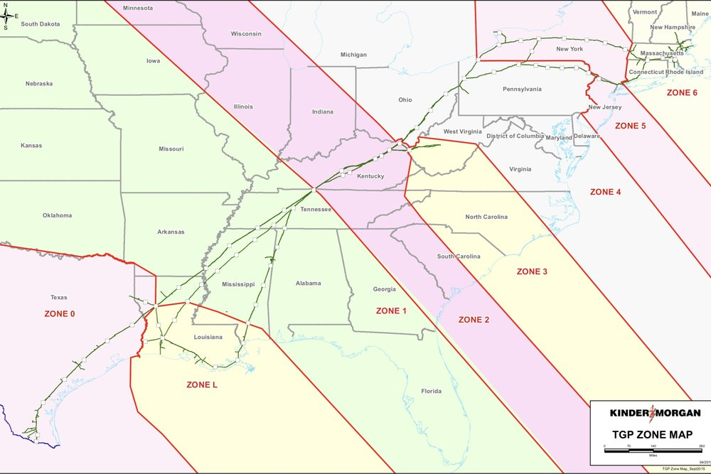 TENNESSEE GAS -