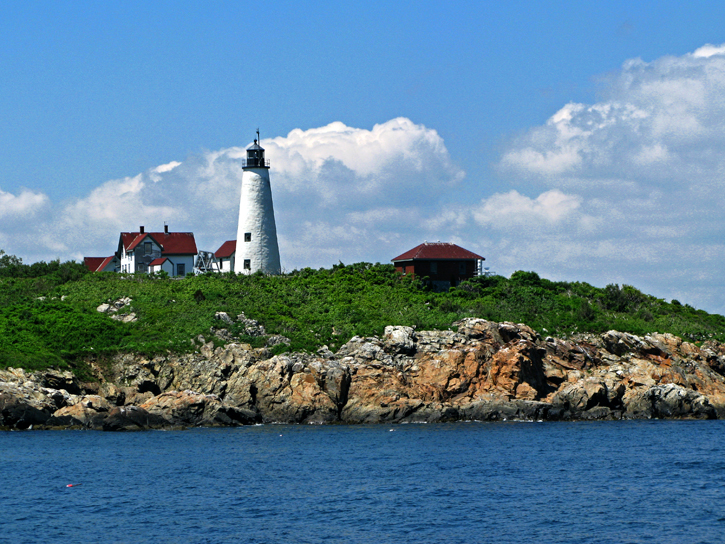 Bakers Island Light