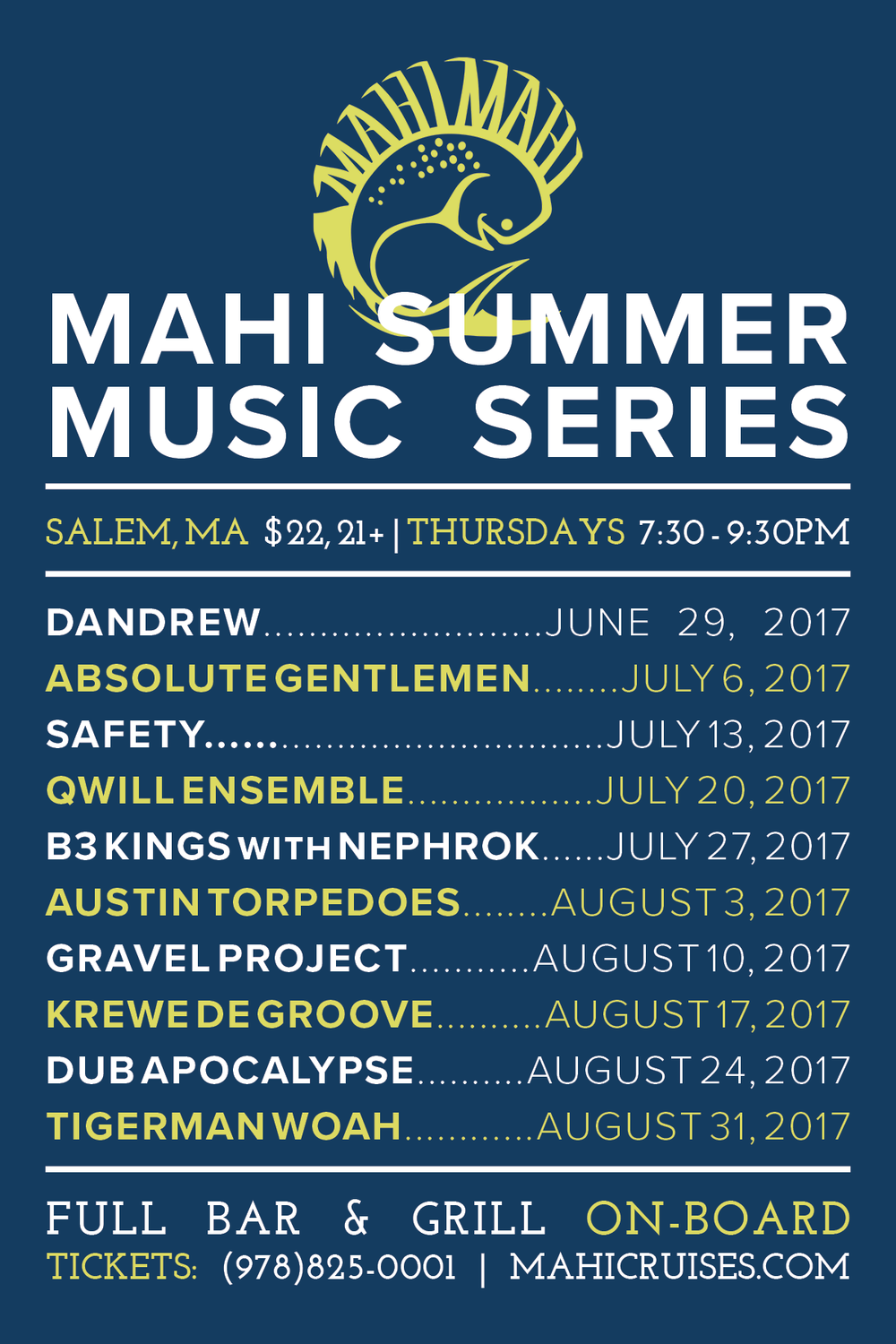mahi summer music series 2017