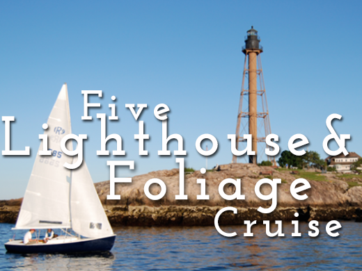 lighthouse and foliage cruise